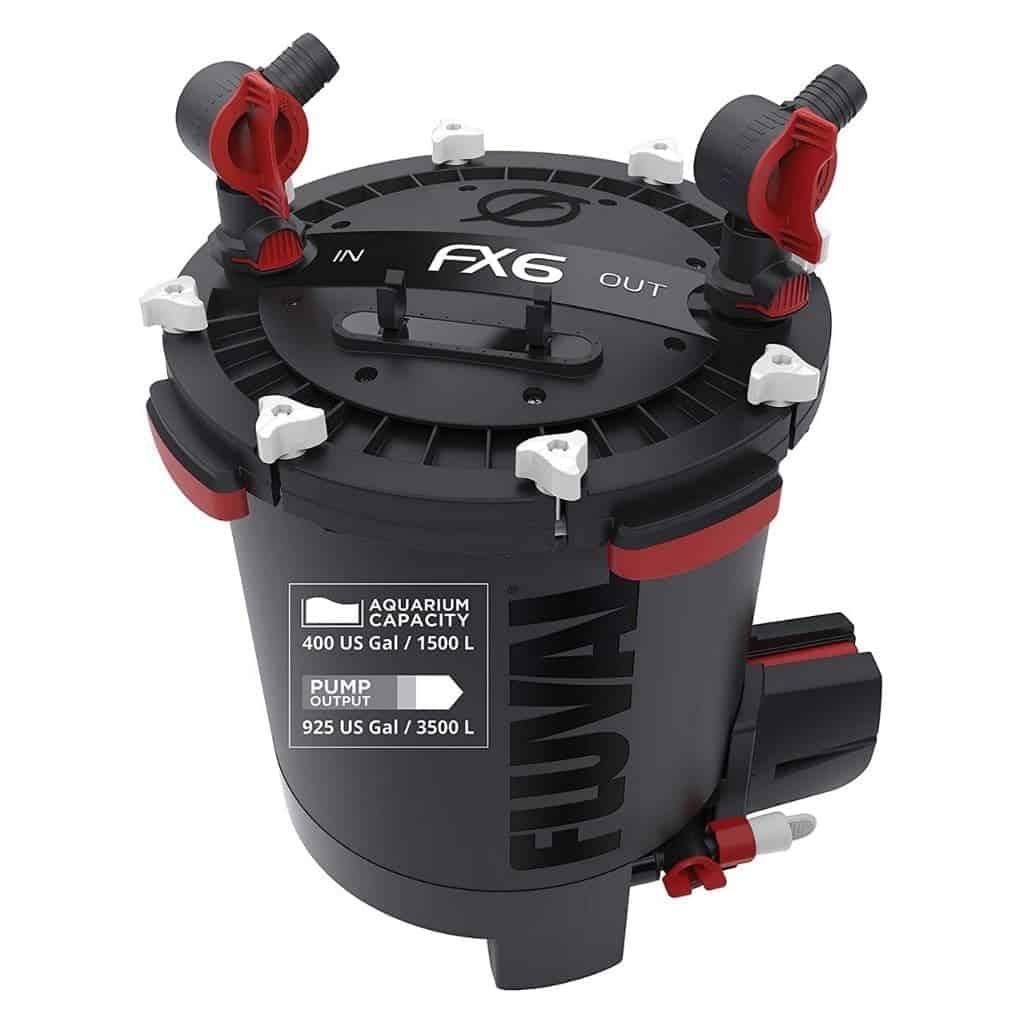 Fluval FX6 aquarium canister filter.