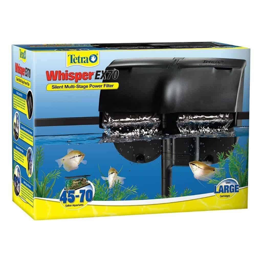 Tetra aquarium filter box.