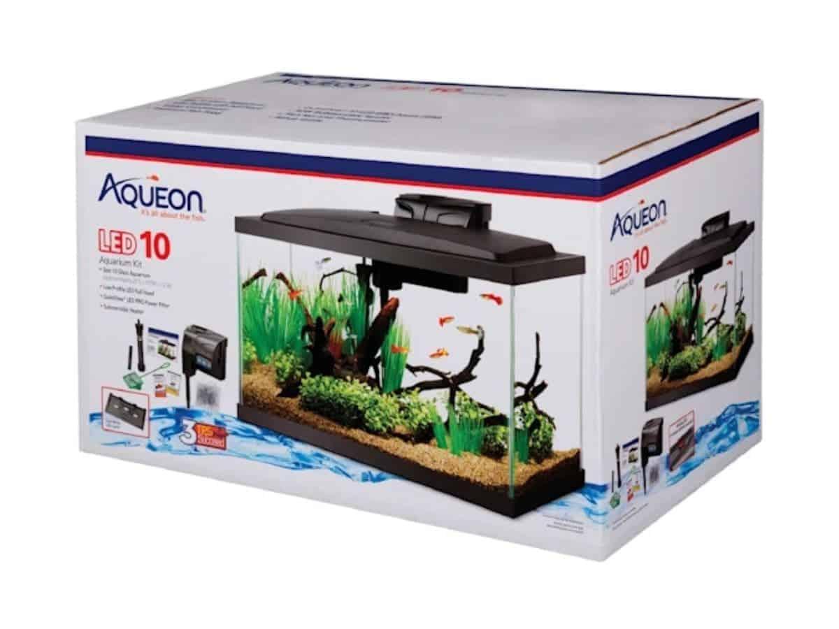 Box for the Aqueon aquarium.